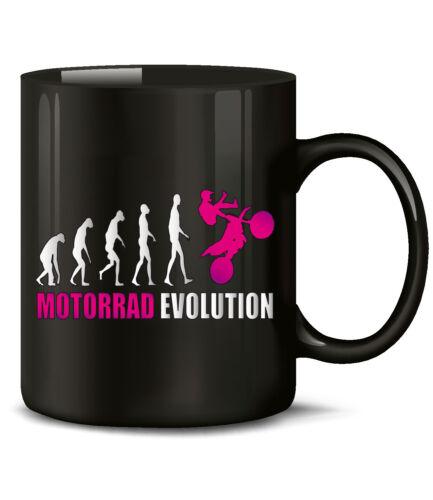 Teetasse MOTORRAD EVOLUTION KaffeeBecher Motorsport Keramik Becher