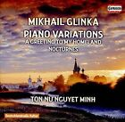 Mikhail Glinka: Piano Variations (CD, Aug-2016, Capriccio Records)
