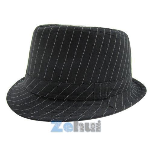 Baby Girl Boy Toddler Kid Cap Fedora Hat Jazz Cap Panama Cotton Trilby Sun Cap