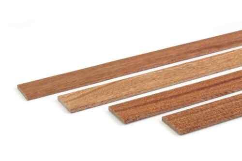 Holzleisten Wand Abschlussleisten Mahagoni 1m Abdeckleisten Holz 4x30 Leisten