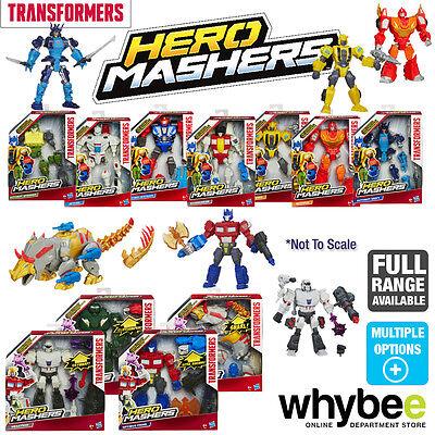 TRANSFORMERS HERO MASHERS ALL FIGURES OPTIMUS PRIME BUMBLEBEE MEGATRON & MORE!
