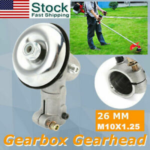 Gearbox Gear Head Assy For Trimmer Brush Cutter Strimmer 26MM Square M10X1.25LH