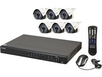 LaView LV-KN988P86A4 Premium IP 8-Channel NVR Surveillance System with 6 x Full HD 1080P Cameras