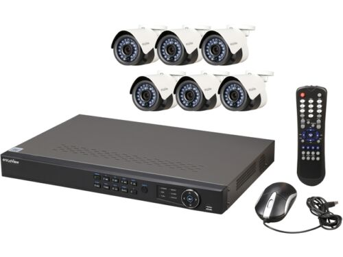 LaView IP 8-Ch. NVR Security System