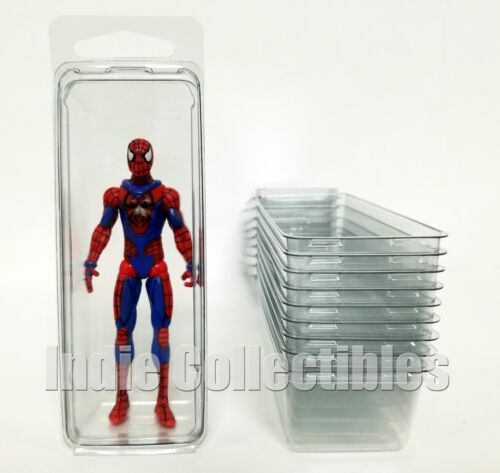 MARVEL DC UNIVERSE BLISTER CASE LOT 10 Action Figure Protective Clamshell SMALL