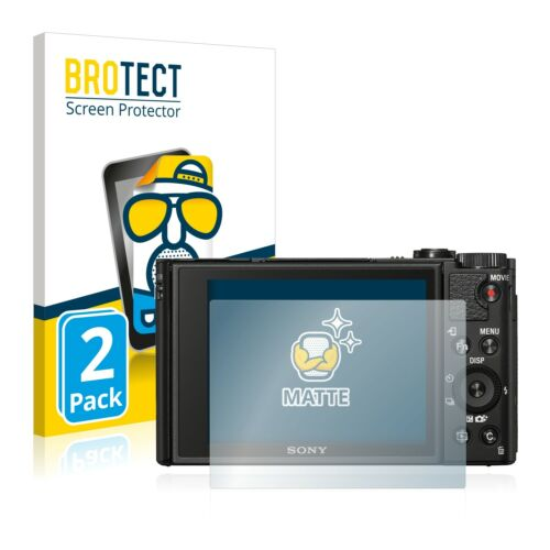 2x Sony Cyber-shot DSC-HX99 Mate Película De Protección Protector De Pantalla Antirreflejo
