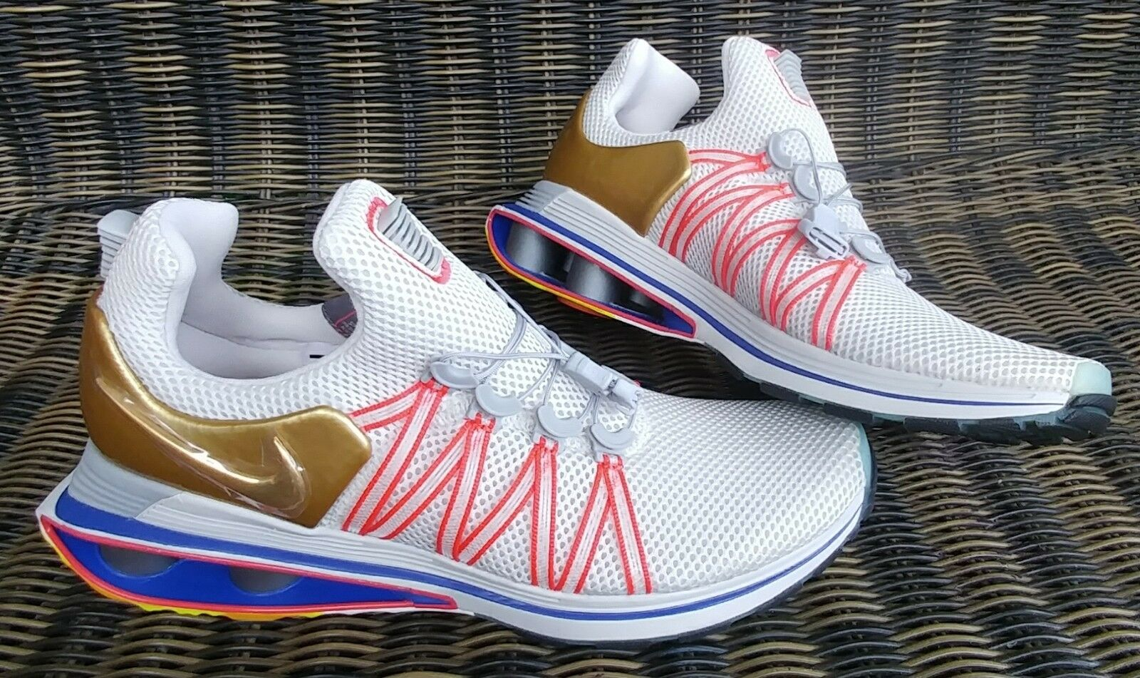 Nike Shox Gravity Mens 10.5 'Metallic gold' 2018 Sneakers