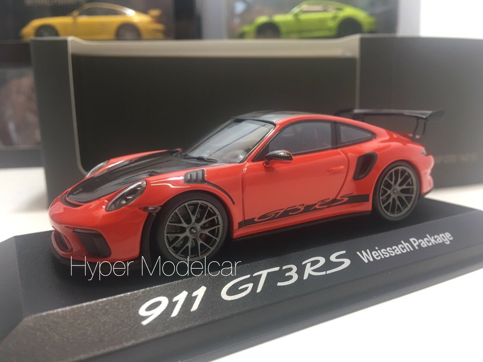 MINICHAMPS 1 43 Porsche 911 991-2 Gt3 RS Coupè 2013 Lava orange Art. WAP0201620J