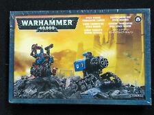 Warhammer 40,000 Space Marine Thunderfire Cannon - Metal - New Sealed