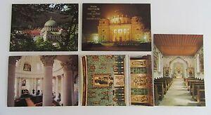 Kirchen-Postkarten-5x-St-Blasien-Schwarzwald-1970-Dom-Kirche-Friedhof-Kapelle