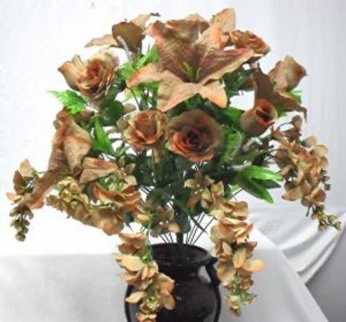 Wedding Supplies Pink Roses Tiger Lily Silk Floral Arrangement Wedding Altar Centerpiece Alp Prodavnica Rs