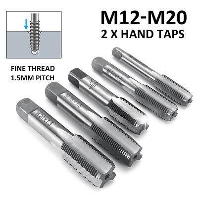 Ensemble de 2 Main Droite Fil sélectionnez la taille M3-M10 Metric Taper And Plug Tap