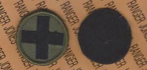 USA 3rd Army OD Green /& Black BDU uniform patch m//e Hook N Loop
