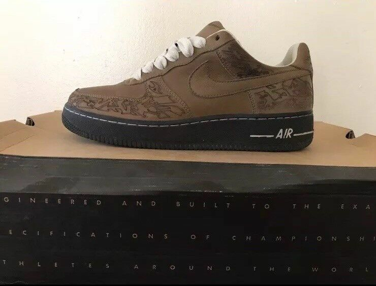 Air Force 1 Stephen 7,5 laberinto Georges laser tamaño 7,5 Stephen e26b01