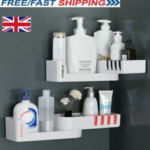 Corner-Storage-Rack-Holder-Shelf-Bathroom-Toilet-Seamless-Rotating-Tripod-Holder