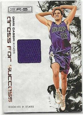 Basketball Cards Amicable Omri Casspi 2009 Panini R&s Dress For Success Event Worn Jersey#299 Rookie Mild And Mellow