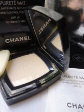 RARE 10 FAIENCE MAT CHANEL PURETE MAT SHINE CONTROL POWDER 15g NEW DENTED BOX