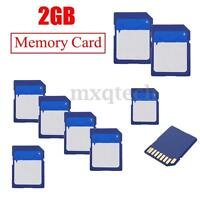 NEW 2GB 2G SD Flash Secure Digital Memory Card for Camera Cell Phone High Speed