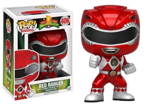 RS Pop Red Ranger Metallic US Exclusive Pop Vinyl Vinyl--Power Rangers