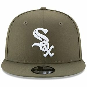 New-Era-9Fifty-Olive-MLB-Basic-Chicago-White-Sox-Snapback