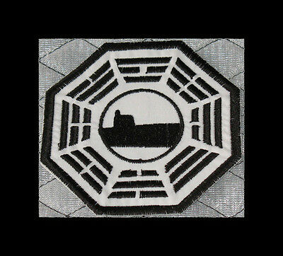 "LOST Dharma Initative Embroidered patch ""Sub"""