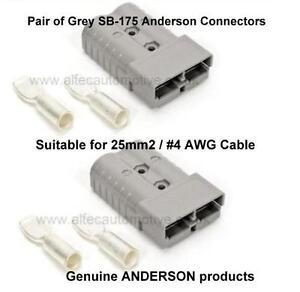 175 Amp Anderson SB-175 Leistungssteckverbinder Paar für 25mm² #4 ...