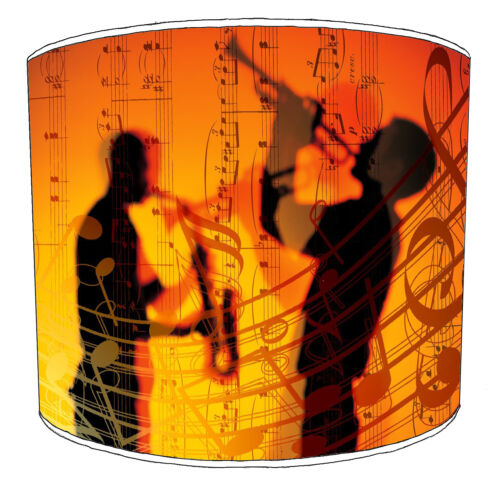 Musical Notes Designs Lampshades Ideal To Match Musical Notes Cushion Covers.