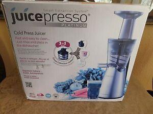 COWAY Juicepresso Platinum Cold Press Juicer CJP 03SEU
