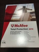 Brand Mcafee Total Protection 2010 1 Pc (old Version)