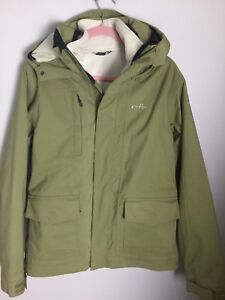 con Ex Taglia Oakley Khaki Condition Green Fleece S cappuccio Jacket 1ZIqp7B