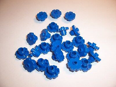 Light Aqua 24866 Lot of 25 Lego FLOWER EDGE 1x1 with 5 Petals New