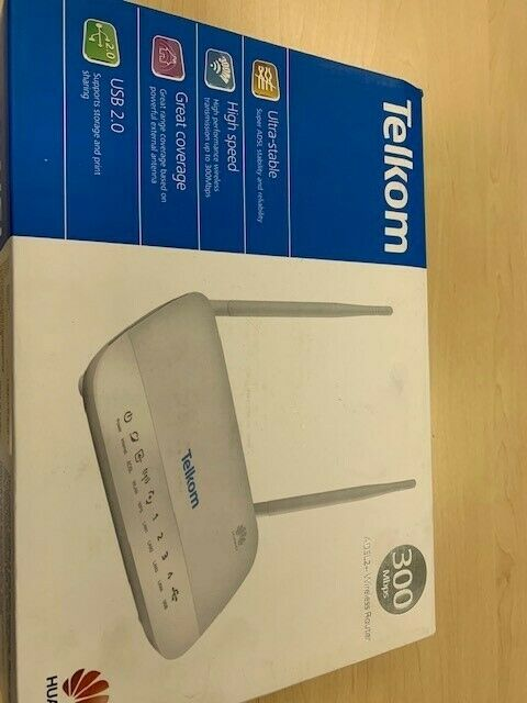 Telkom Huawei Router 300mbps ADSL 2