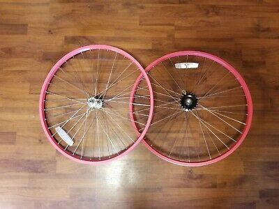 """36 Spoke 26/"""" Pink Coaster Brake Raleigh Cruiser Bike Rear Wheel"""