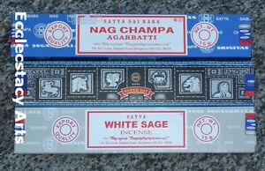 SUPER HIT Incense by Satya Nag Champa Incense STICKS 3 x 15 grams