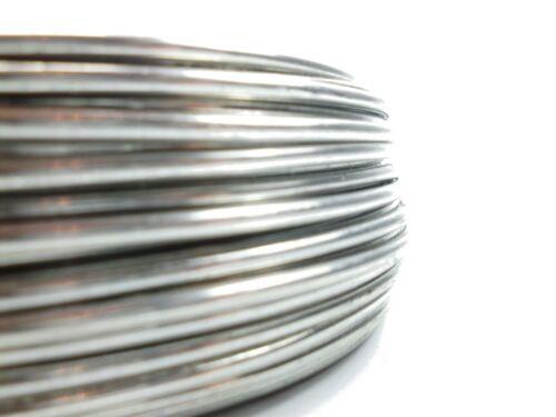 Aluminiumdraht Aludraht Basteldraht Biegedraht 3mm blank