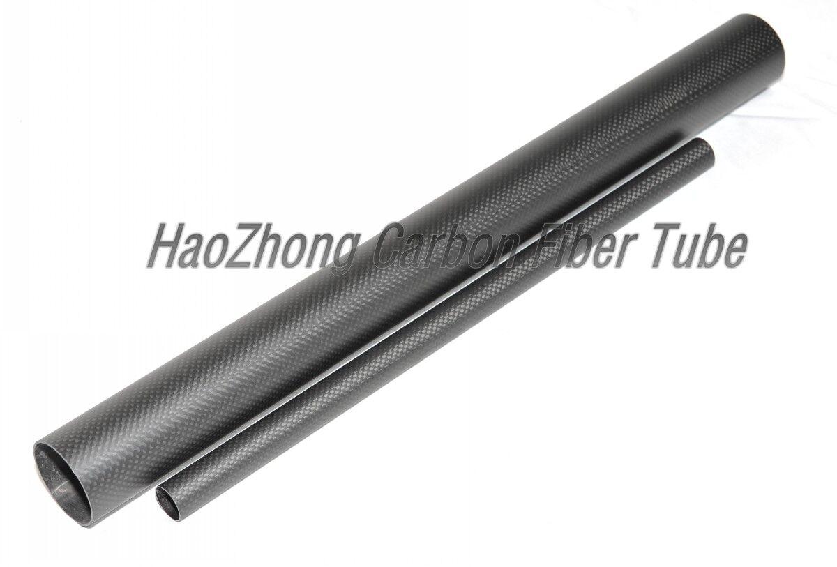 32mm OD x 30mm ID ID ID X 500MM lungo autobon Fiber tube 3k Matt(Roll Wrapped) Tail tube 7aef39