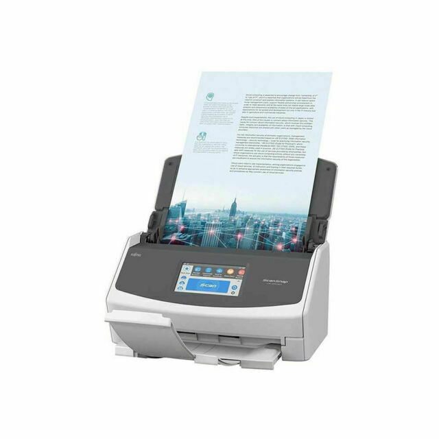 Fujitsu ScanSnap Ix1500 A4 Document Scanner