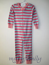 HANNA ANDERSSON Baby Organic Zip Sleeper Wave Macaron Stripe 60 6-9 mos NWT