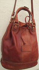 -AUTHENTIQUE sac seau KENZO cuir  TBEG vintage bag