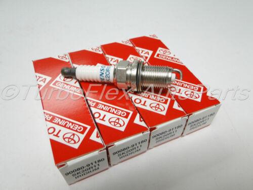 Toyota Scion Lexus Genuine Iridium Spark Plug Set of 4  90080-91180   SK20R11