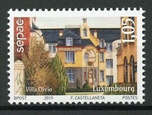 Luxembourg-2019-neuf-sans-charniere-vieux-residentiels-maisons-1-V-Set-Architecture-timbres