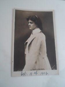 MISS GERTRUDE ELLIOTT As Maisie The light That Failed RPPC Franked 1904 §B2175