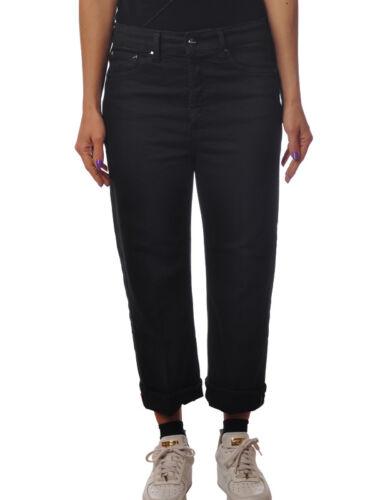 Dritta Gamba Donna Dondup Jeans Nero 5164817l183957 pantaloni tqwq1gIPE