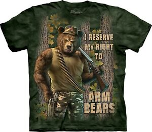 da adulti Bears braccio Mountain Aquatics The Unisex per shirt T 5qYxSn