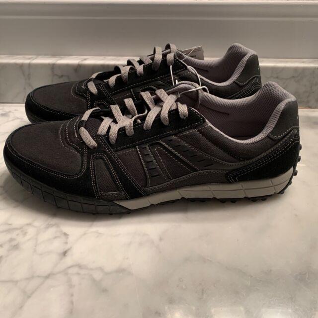 Men's S Sport Designed by Skechers Kanone Athletic Shoes - Black / Grey Size 12