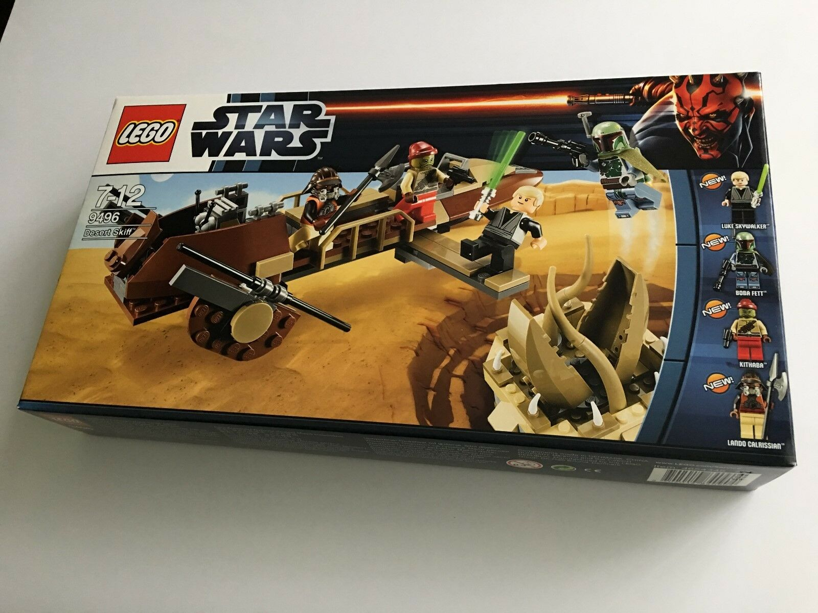 LEGO Star Wars Desert Skiff - Set 9496 - Brand New & Sealed