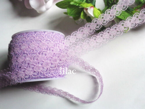 1//2  inch wide lace Trim Ribbon select color price for 3 yard