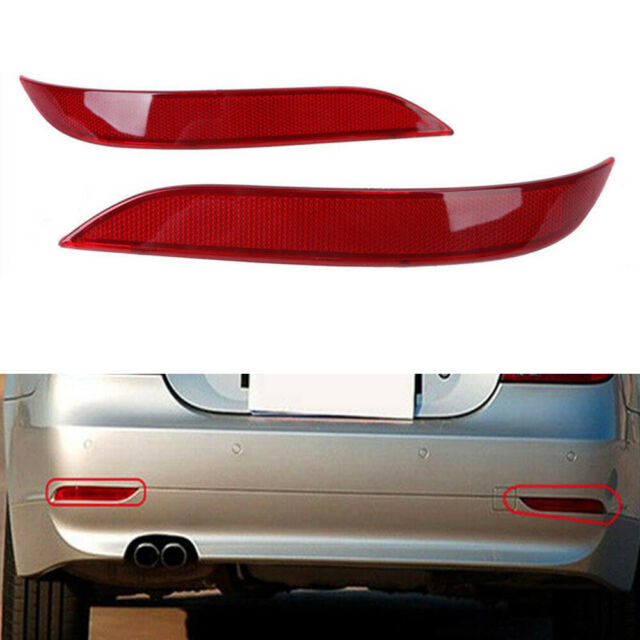 Rear Bumper Reflector 63146915039 63146915040 fit for BMW 5 Series E60 E61 03-07