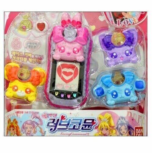Glitter Force Doki Doki Heartbeat Precure Love Commune Animation Action Toy/_NU