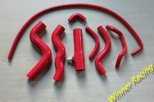 For LANCIA DELTA INTEGRALE EVO 2.0L 1989-1992 SILICONE RADIATOR HEATER HOSE 8pcs